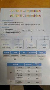پوستر مسابقه ICT